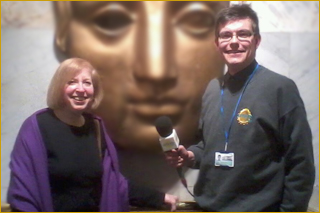 Gail Renard with Andrew Read at the BAFTA HQ