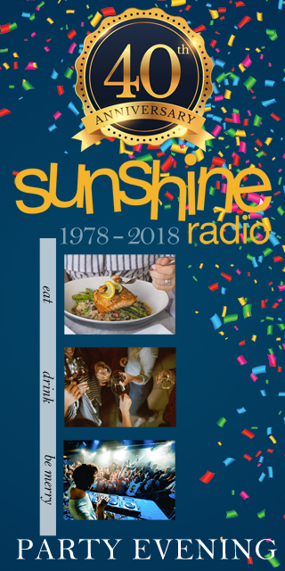 SUNSHINE 40th ANNIVERSARY PARTY